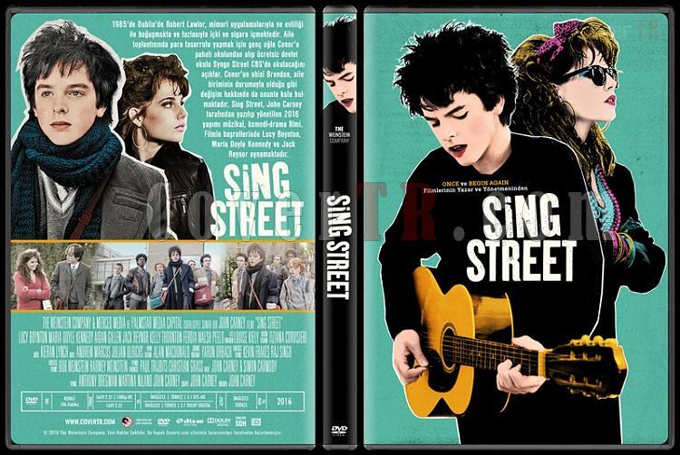 Sing Street - Custom Dvd Cover - Türkçe [2016]-standardjpg