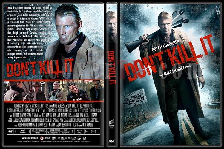 Don't Kill It - Custom Dvd Cover - Türkçe [2016]-standardjpg