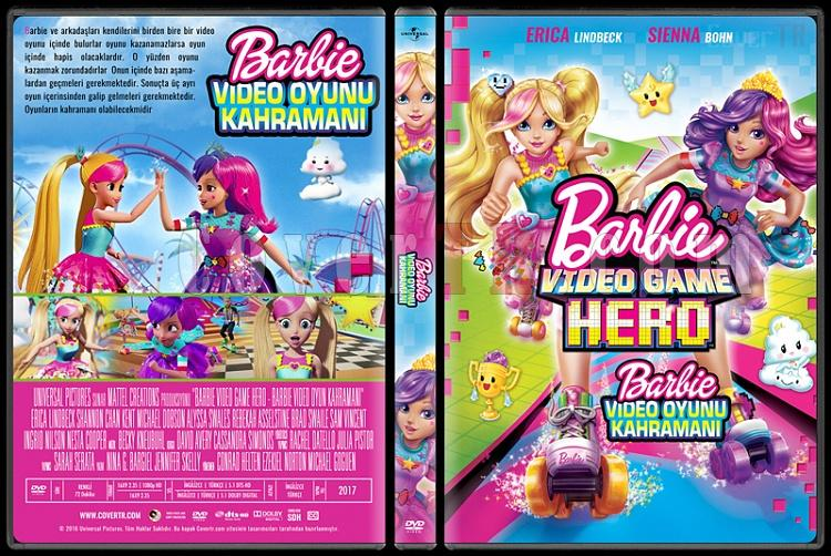 Barbie Video Game Hero (Barbie Video Oyun Kahramanı) - Custom Dvd Cover - Türkçe [2017]-standardjpg