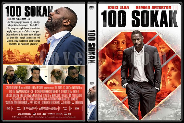 100 Streets (100 Sokak) - Custom Dvd Cover - Türkçe [2016]-1jpg