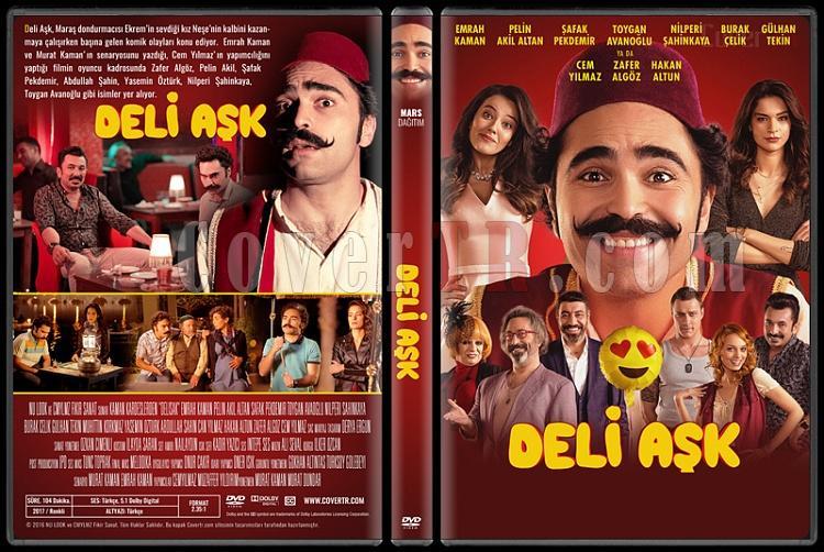 Deli Aşk - Custom Dvd Cover - Türkçe [2017]-1jpg