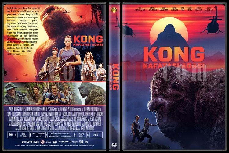 Kong: Skull Island - (Kong: Kafatası Adası) - Custom Dvd Cover - Türkçe [2017]-1jpg