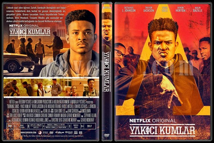 Burning Sands (Yakıcı Kumlar) - Custom Dvd Cover - Türkçe [2017]-standardjpg