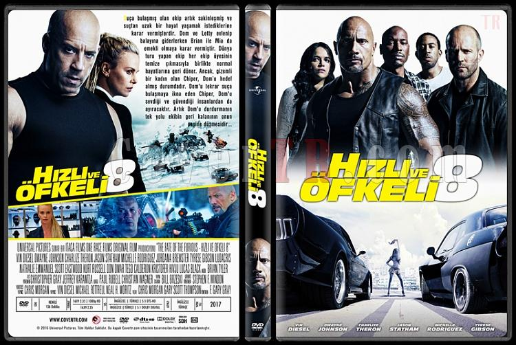 The Fate Of The Furious (Hızlı ve Öfkeli 8) - Custom Dvd Cover - Türkçe [2017]-1jpg
