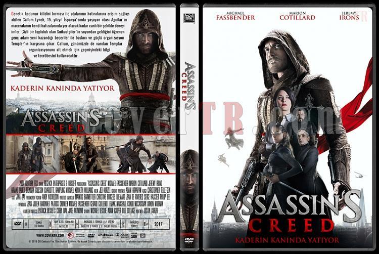 Assassin's Creed - Custom Dvd Cover - Türkçe [2016]-standardjpg