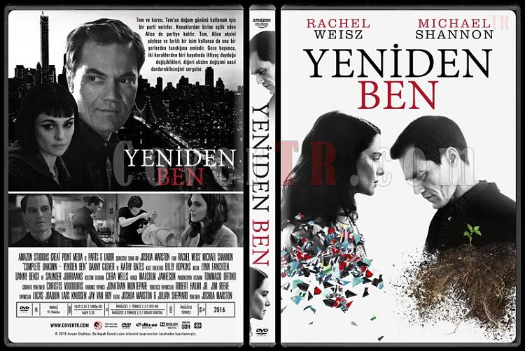 Complete Unknown (Yeniden Ben) - Custom Dvd Cover - Türkçe [2016]-1jpg