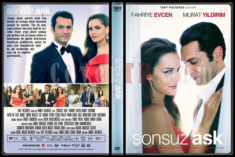 Sonsuz Aşk - Custom Dvd Cover - Türkçe [2017]-1jpg