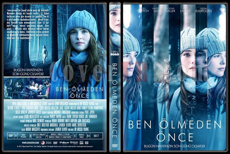 Before I Fall (Ben Ölmeden Önce) - Custom Dvd Cover - Türkçe [2017]-1jpg