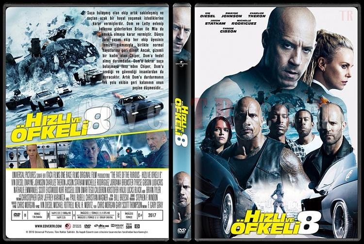 The Fate Of The Furious (Hızlı ve Öfkeli 8) - Custom Dvd Cover - Türkçe [2017]-2jpg