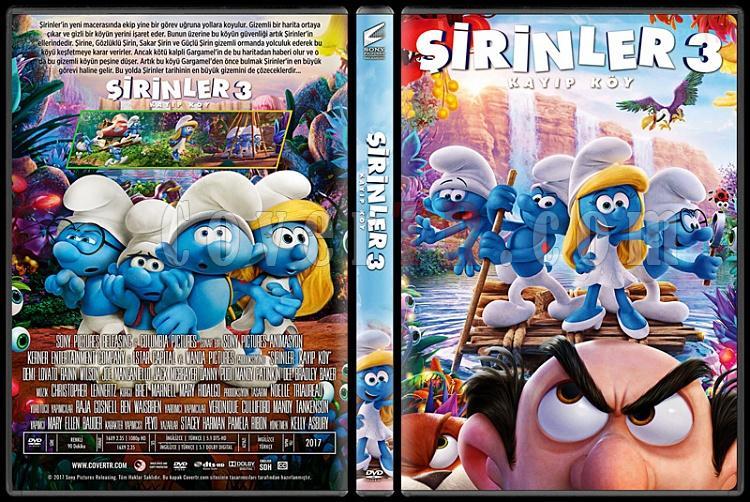 Smurfs: The Lost Village (Şirinler: Kayıp Köy) - Custom Dvd Cover - Türkçe [2017]-standardjpg