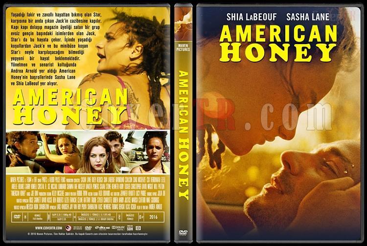 American Honey - Custom Dvd Cover - Türkçe [2016]-3jpg