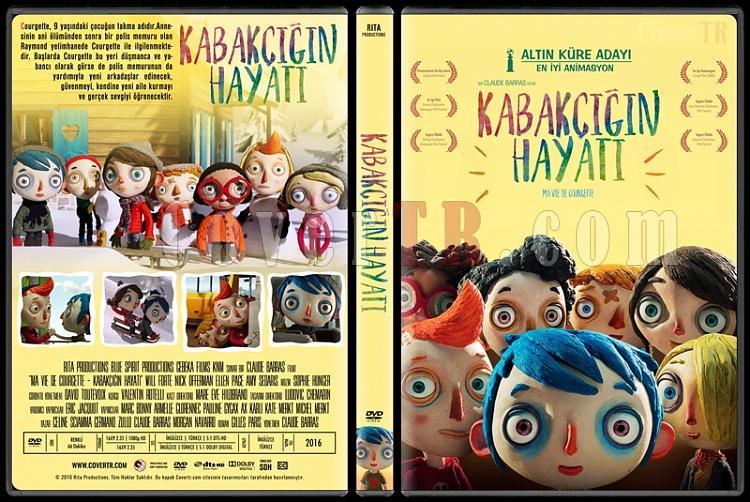 My Life as a Zucchini  (Kabakçığın Hayatı) - Custom Dvd Cover - Türkçe [2016]-1jpg