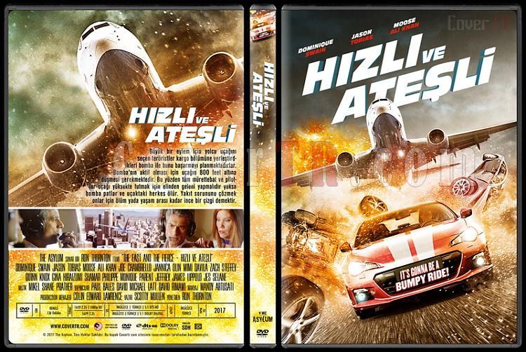 The Fast and the Fierce (Hızlı ve Ateşli) - Custom Dvd Cover - Türkçe [2016]-1jpg
