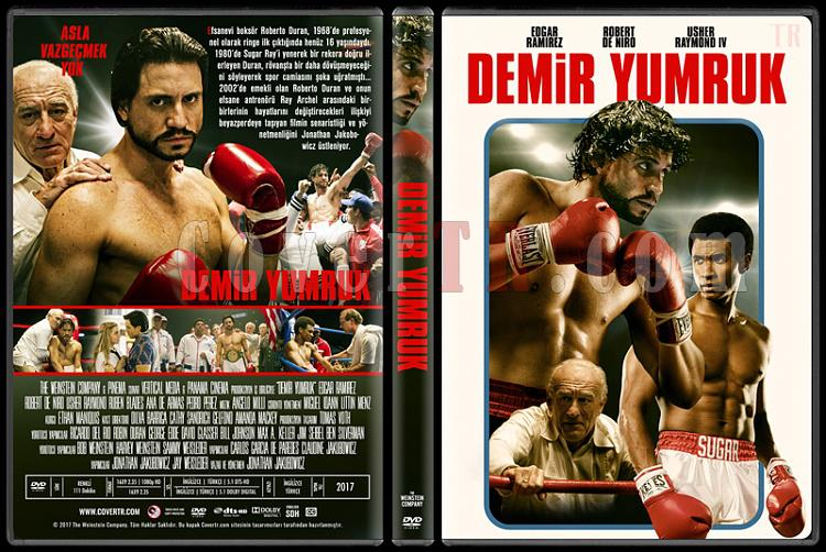 Hands of Stone (Demir Yumruk) - Custom Dvd Cover - Türkçe [2016]-1jpg