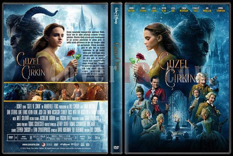 Beauty And The Beast (Güzel ve Çirkin) - Custom Dvd Cover - Türkçe [2017]-1jpg