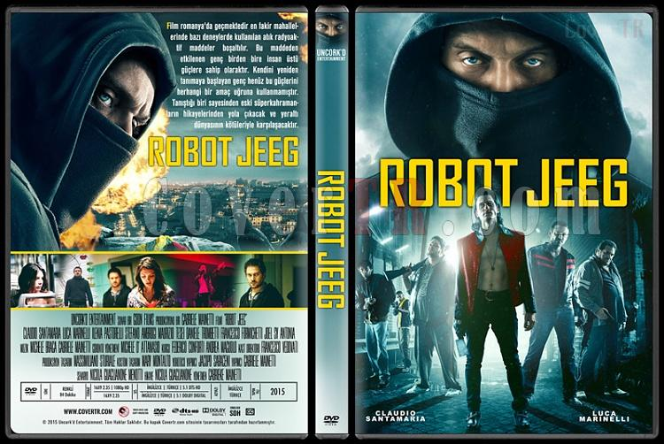 They Call Me Jeeg (Robot Jeeg) - Custom Dvd Cover - Türkçe [2015]-1jpg