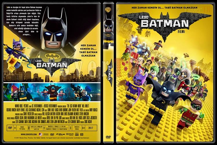 The LEGO Batman Movie (Lego Batman Filmi) - Custom Dvd Cover - Türkçe [2017]-2jpg