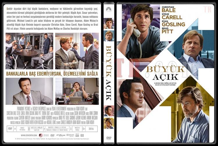 The Big Short (Büyük Açık) - Custom Dvd Cover - Türkçe [2016]-1jpg