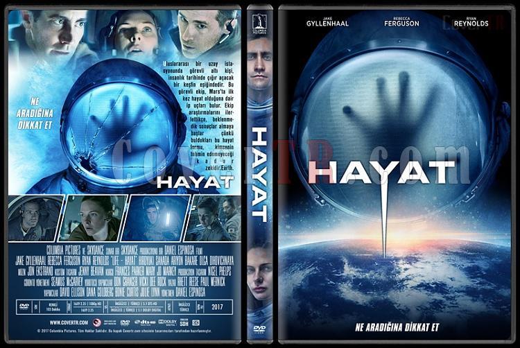 Life (Hayat) - Custom Dvd Cover - Türkçe [2017]-1jpg