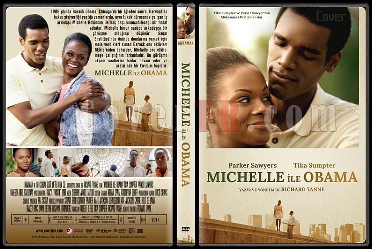 Southside with You (Michelle ile Obama) - Custom Dvd Cover - Türkçe [2017]-1jpg