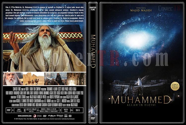 Muhammad: The Messenger of God (Hz. Muhammed: Allah'ın Elçisi) - Custom Dvd Cover - Türkçe [2015]-1jpg
