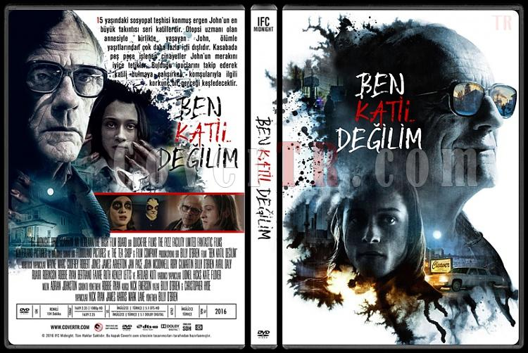 I Am Not a Serial Killer (Ben Katil Değilim) - Custom Dvd Cover - Türkçe [2016]-1jpg