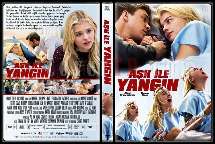 Brain on Fire (Aşk İle Yangın) - Custom Dvd Cover - Türkçe [2016]-2jpg