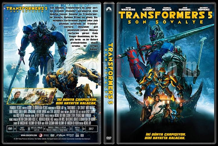 Transformers: The Last Knight (Transformers 5: Son Şövalye) - Custom Dvd Cover - Türkçe [2017]-1jpg