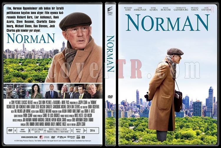 Norman: The Moderate Rise and Tragic Fall of a New York Fixer  - Custom Dvd Cover - Türkçe [2016]-1jpg