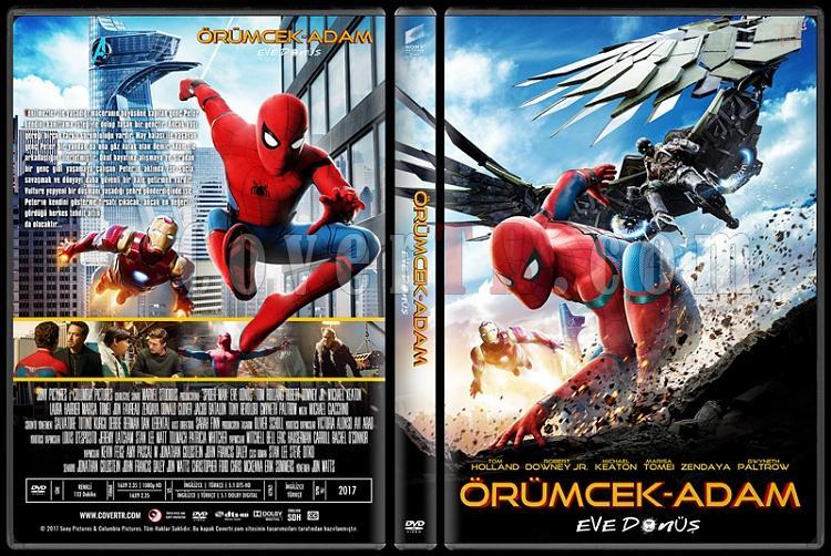 Spider-Man: Homecoming (Örümcek-Adam: Eve Dönüş) - Custom Dvd Cover - Türkçe [2017]-1jpg
