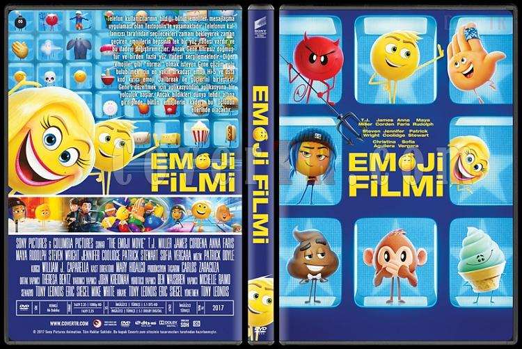 The Emoji Movie (Emoji Filmi) - Custom Dvd Cover - Türkçe [2017]-1jpg