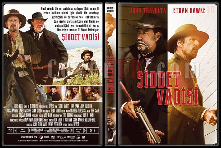 In a Valley of Violence  (Şiddet Vadisi) - Custom Dvd Cover - Türkçe [2016]-3jpg