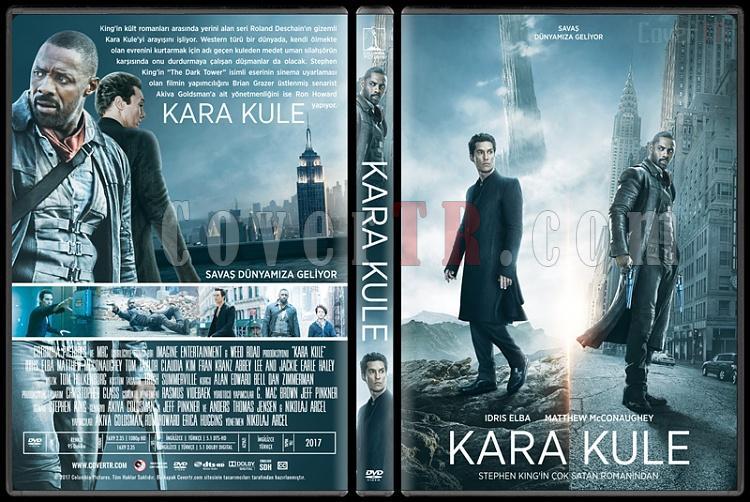 The Dark Tower (Kara Kule) - Custom Dvd Cover - Türkçe [2017]-1jpg