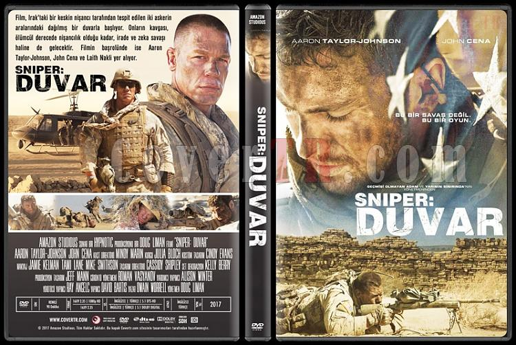 The Wall (Sniper: Duvar) - Custom Dvd Cover - Türkçe [2017]-2jpg