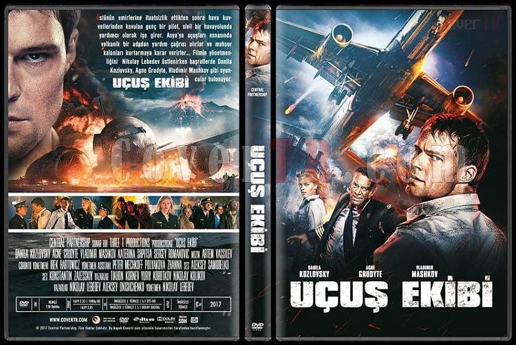 Ekipazh - Flight Crew (Uçuş Ekibi) - Custom Dvd Cover - Türkçe [2016]-1jpg