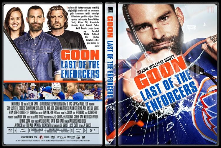 Goon: Last of the Enforcers - Custom Dvd Cover - Türkçe [2017]-1jpg