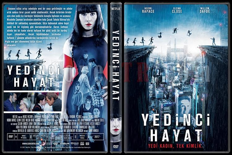 Seven Sisters - What Happened to Monday (Yedinci Hayat) - Custom Dvd Cover - Türkçe [2017]-1jpg