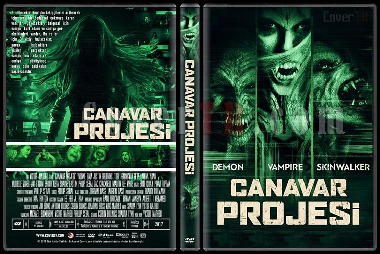The Monster Project (Canavar Projesi) - Custom Dvd Cover - Türkçe [2017]-1jpg