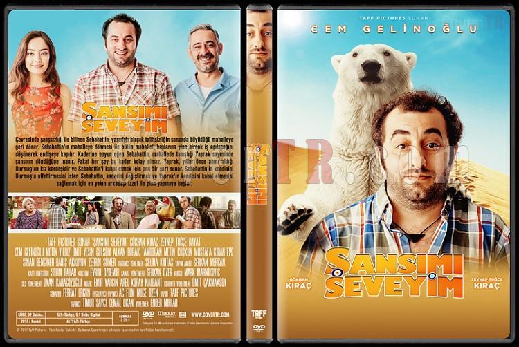 Şansımı Seveyim - Custom Dvd Cover - Türkçe [2017]-1jpg
