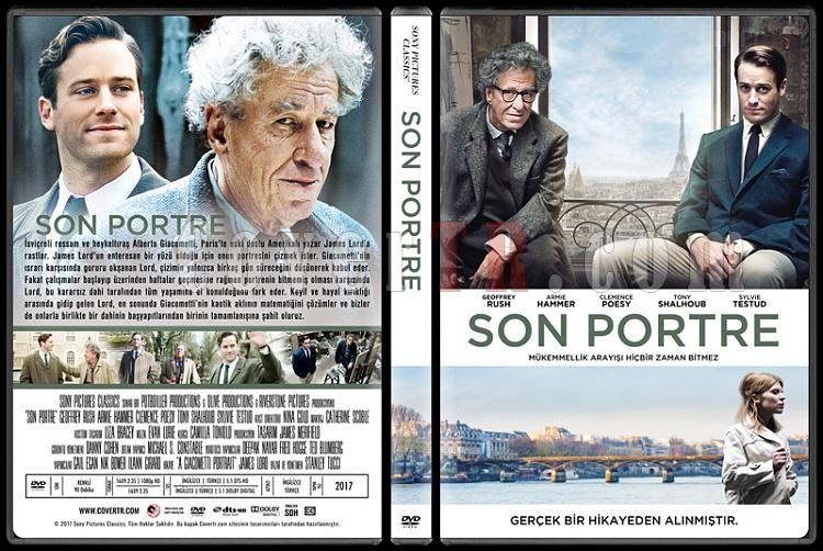 Final Portrait (Son Portre) - Custom Dvd Cover - Türkçe [2017]-1jpg
