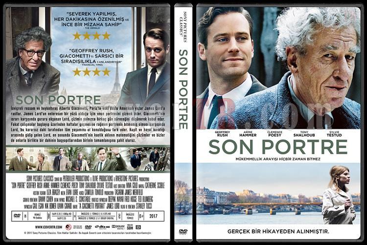 Final Portrait (Son Portre) - Custom Dvd Cover - Türkçe [2017]-2jpg