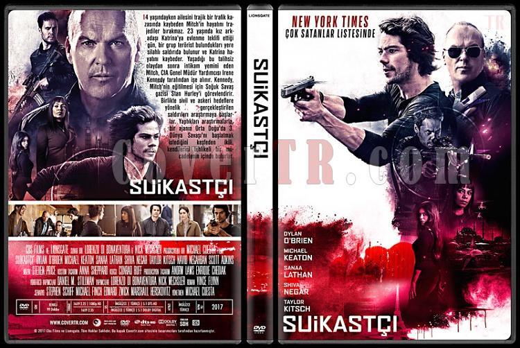 American Assassin (Suikastçı) - Custom Dvd Cover - Türkçe [2017]-1jpg