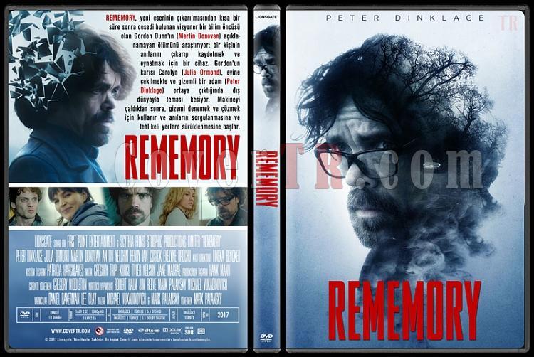 Rememory - Custom Dvd Cover - Türkçe [2017]-1jpg