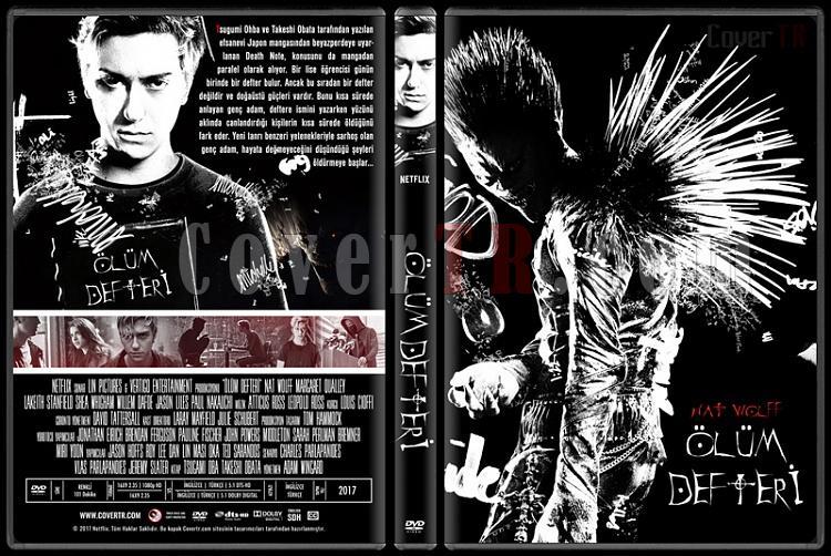 Death Note (Ölüm Defteri) - Custom Dvd Cover - Türkçe [2017]-3jpg