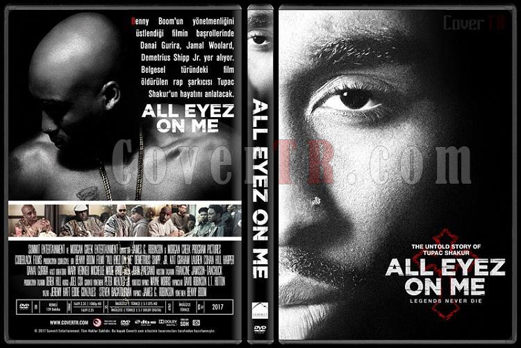 All Eyez on Me - Custom Dvd Cover - Türkçe [2017]-2jpg