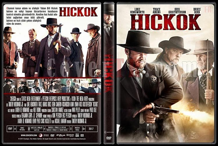 Hickok - Custom Dvd Cover - Türkçe [2017]-1jpg