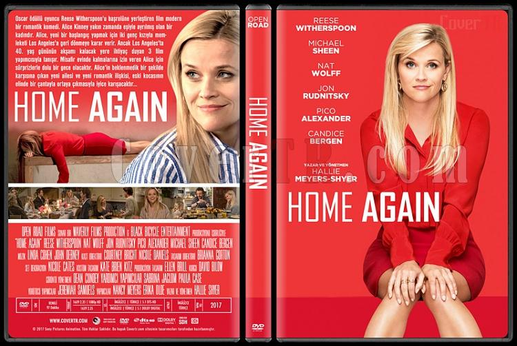 Home Again - Custom Dvd Cover - Türkçe [2017]-2jpg