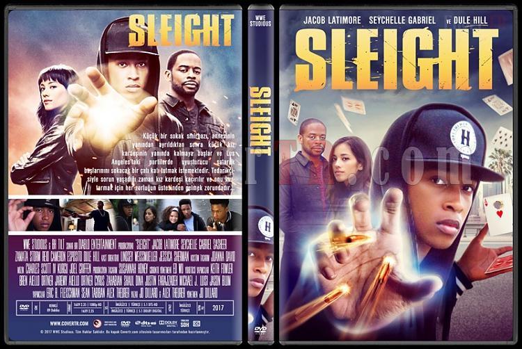 Sleight - Custom Dvd Cover - Türkçe [2016]-1jpg