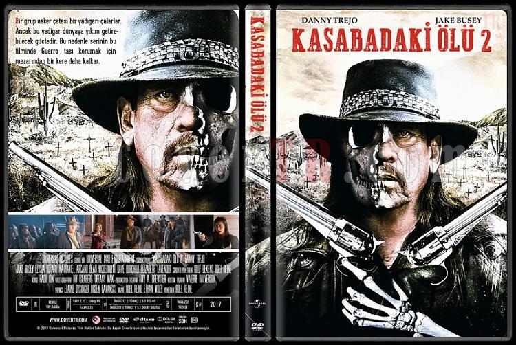 Dead Again in Tombstone (Kasabadaki Ölü 2) - Custom Dvd Cover - Türkçe [2017]-1jpg