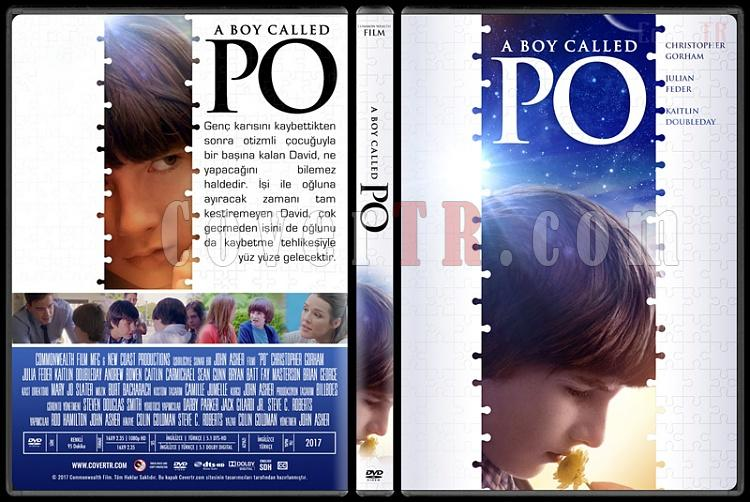 A Boy Called Po - Custom Dvd Cover - Türkçe [2017]-1jpg